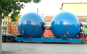 Easy operation spherical boiler rotary spherical digester price for pulping and papermaking