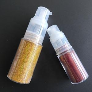 Eco-friendly Chunky  glitter powder spray body glitter