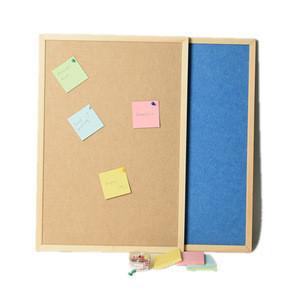 Felt Push Pin Notice Board,felt Bulletin Board,Wooden Frame cork board notice