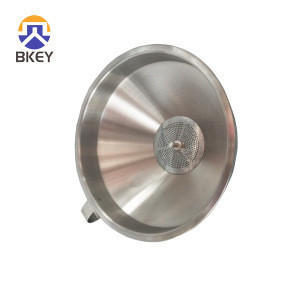 Food Grade Stainless Steel Funnel Stainless Steel Conical Strainer Filter Screen