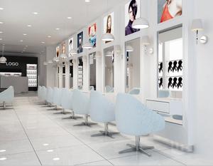 Hair salon decoration barber shop mirror stations for sale