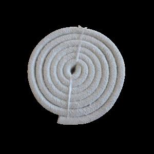 Heat insulation stove glass sealing ceramic fiber square braided rope