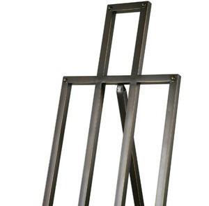High quality custom made adjustable metal floor easel