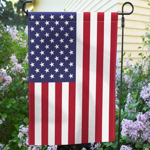 High quality double sides blank house garden flag 12x18 inch