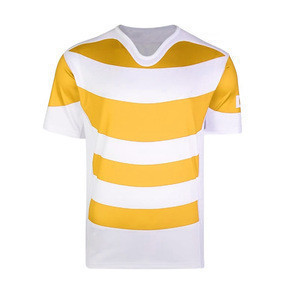 High quality new fashion design your own rugby jersey