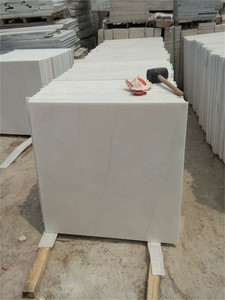 High quality white marble stair with anti-slip made in China