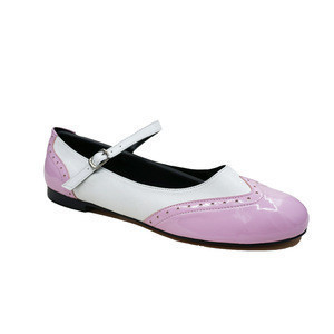 Hot Sale Pink Dancing Low Heel Flat Shoes For Women Wedding After Party