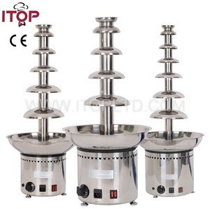 Itop industrial large chocolate fountain