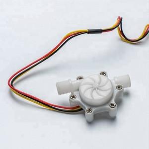 Misensor water mass air flow sensor