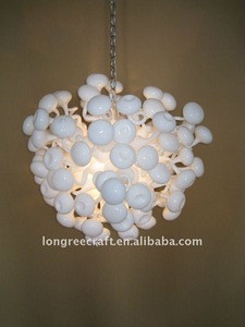 Modern Hanging Glass Ball Light