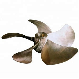 Outboard engine 4 blades stainless steel boat marine propeller
