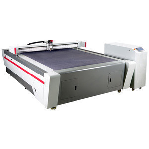 Paper processing machine cnc cutting machine with conveyor system