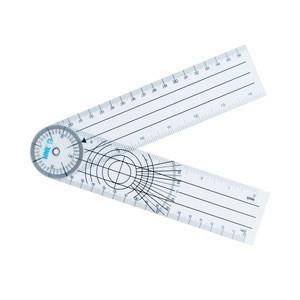 Rotating Goniometer Protractor Medical Orthopedics Bone Plastic Pvc Pain Ruler With Goniometer