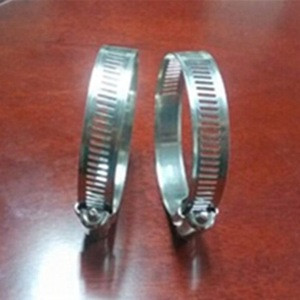Saddle Hose Clamp, Stainless Steel American Type Clamp