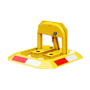 Safety Equipment Remote Control Parking Lock, Wholesale China Goods Safety And Security Wheel Blockers%