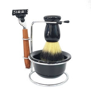 Soft Shaving Brush Kit Cheap And Good Shaving Safety Razor Set Travel Shaving Kit