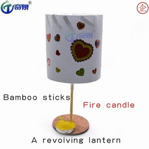 STEM-DIY Qiquan science education experimental equipment paper light up  revolving lantern childrens toys educational