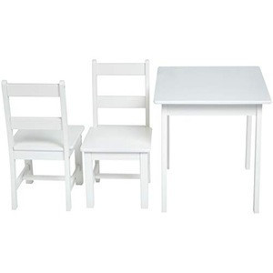Table and chair wooden kid children furniture set
