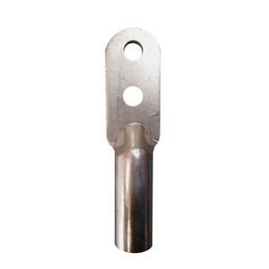Tinned copper double hole lug battery terminals high strength wire cable fitting connector with CE certificate
