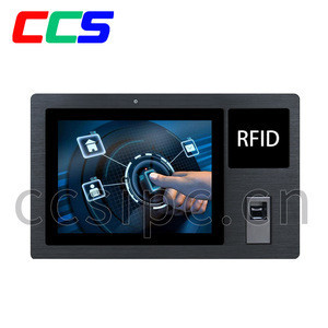 Touch Screen Android All in One Tablet Customized with Finger Printer and RFID Reader