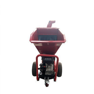Tree Cutting Machine Garden Shredder Wood Chipper With CE