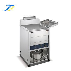 Vertical Electric Deep Fryer/Continuous Falafel Snack Fryer