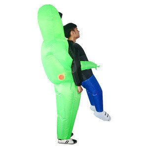 Wholesale Carnival party cosplay costume and Alien inflatable costume for kids Adult