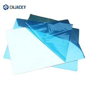 Wholesale Durable A4 0.8mm A3 Plus High Glossy Lamination Mirror Steel Plate for PVC Card
