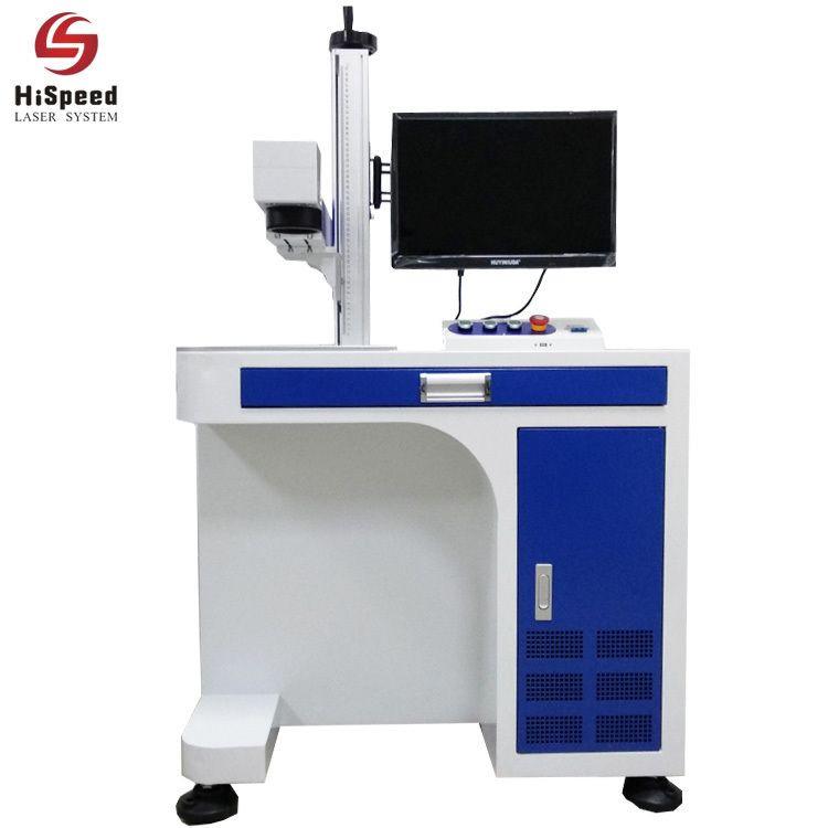 China Dongguan Fiber Laser Marking Engraving Machine System