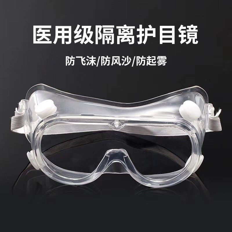 Protection Safety Glasses for Men, Eye Impacted Sealed Protective Work Goggles Over Spectacles for DIY, Lab, Welding, Grinding, Cycling