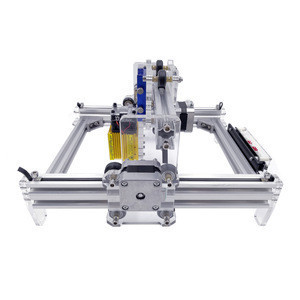 0.5-15w CNC Router L5 1319 Working Area Mini DIY Steel Caving Marking Machine can Carve Photo