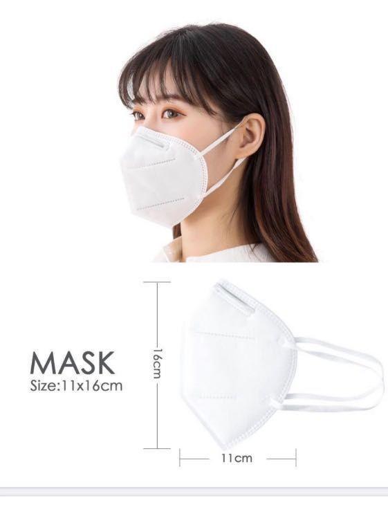 In Stock: FFP2/KN95 Respirator Masks (CE,FDA)