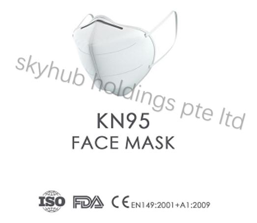 In Stock: FFP2/KN95 Respirator Masks (CE)