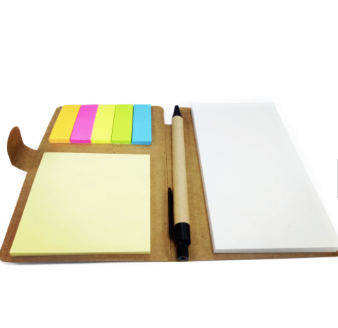 Home office kraft paper sticky note memo pad