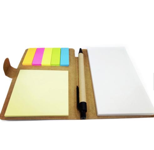 Home office kraft paper sticky note memo pad