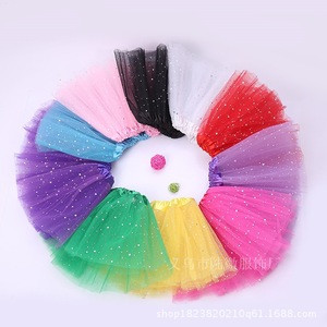 10 colors tutu skirts for girls dance skirt sequined mesh skirt
