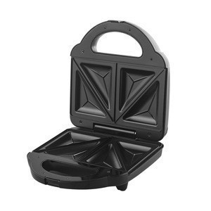 2-slice sandwich maker/toaster with the closed hinge
