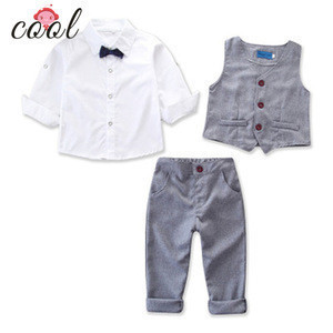 2019 New Fashion Design Baby Boy Clothing Set Gentleman Suits 3pcs Blazer Shirts Pants 2019 New Fashion Design Baby Boy Clothing Set Gentleman Suits 3pcs Blazer Shirts Pants Suppliers Manufacturers Tradewheel