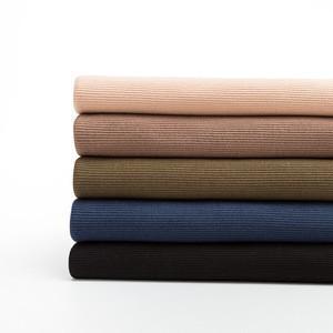 2020 New Product Fashion Knitting Rib High Quality Rib Fake Knit Fabric