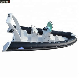 2020 Year Hot Sale Outboard Engine Luxury Inflatable Boat RIB CE