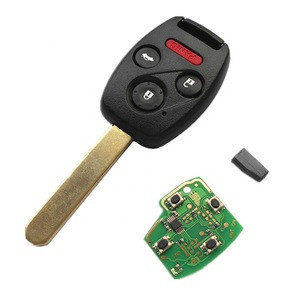 4 BTN ID46 313.8Mhz Remote Key Shell for Honda Accord 2003-2007 FCC:OUCG8D-38OH-A