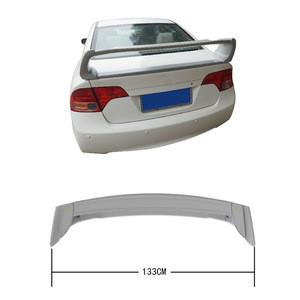ABS material Primer Unpainted Color Car Rear Roof Spoiler