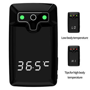 Auto voice broadcast instrument Non-contact thermodetector intelligent temperature screening doorbell entrance guard