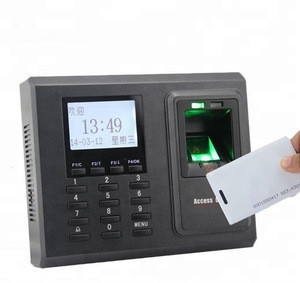Best sell F2  fingerprint and smart card and pin time attendance with door access control