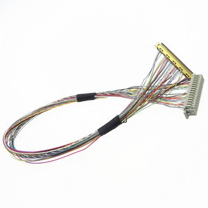 CC02 UL20276 hrs lvds extension twisted led 40 pin to lcd 30 pin converter cable for crt monitor
