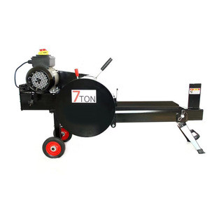 Chipper horizontal Gasoline  firewood Tree Cutter Machine Wood Cut Weight Pieces Origin firewood machine for home use