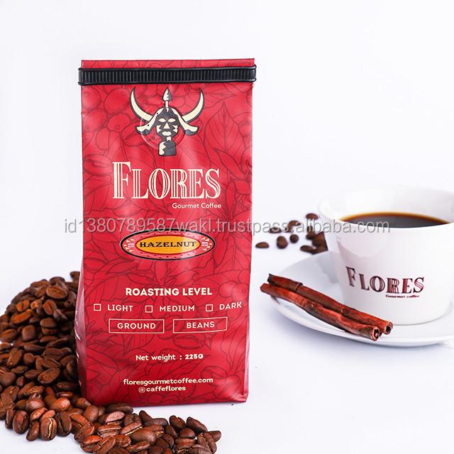 Coffee beans Hazelnut 225g Beans House Blend Medium Roast Indonesian