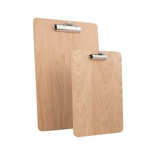 Custom Logo A3 Fixed Clip Wooden Clipboard A4
