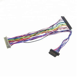 Customized FI-S20S FI-S6S to DF13 20pin wire harness assembly