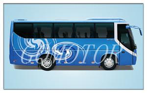 Diesel Engine Foton AUV Coach Bus